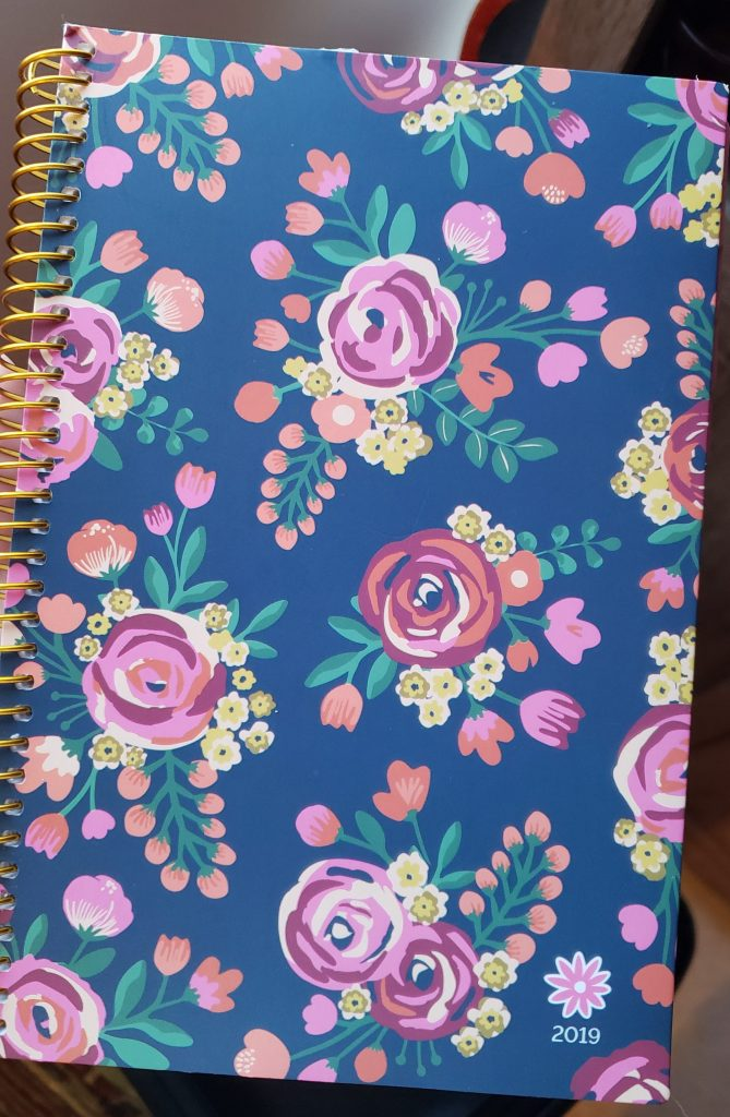 Cute floral patterned planer.